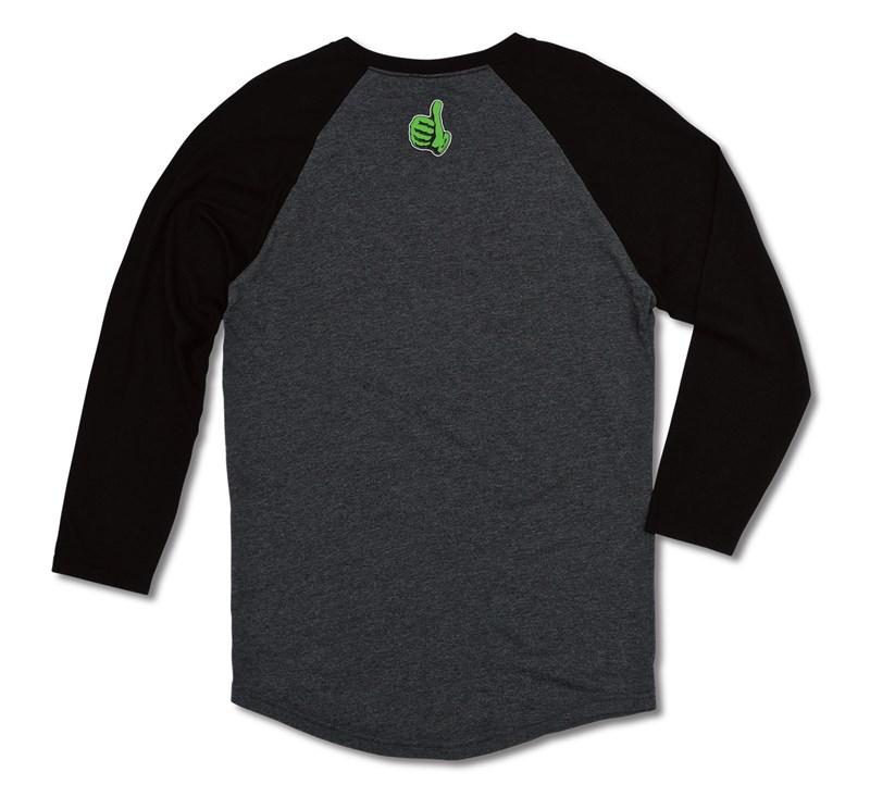 Team Green Raglan T-Shirt detail photo 2