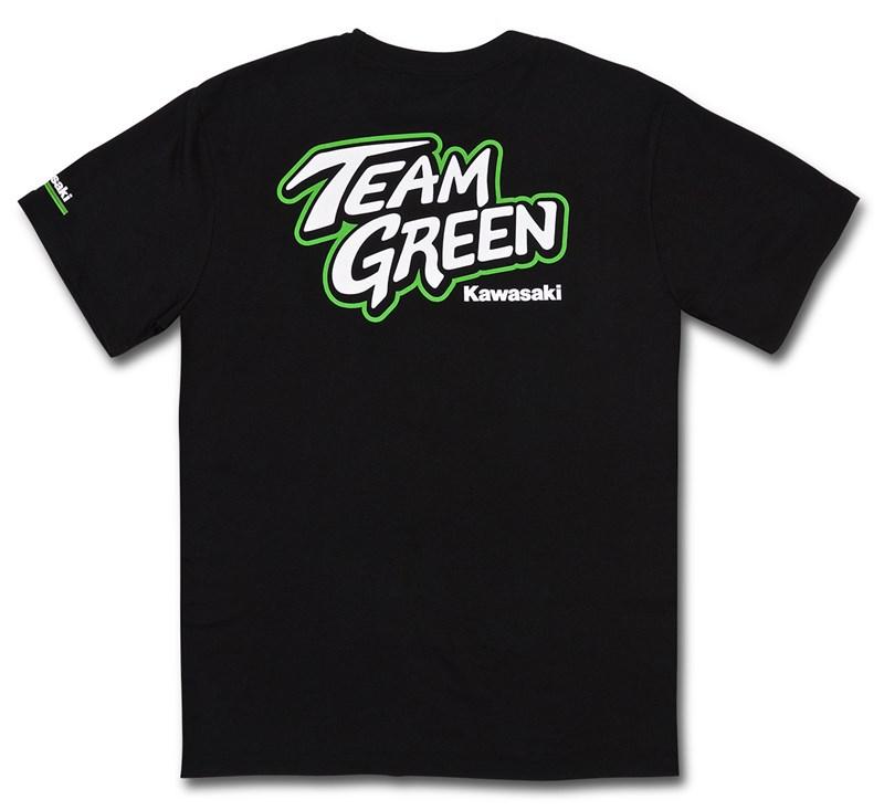 Team Green T-Shirt detail photo 2