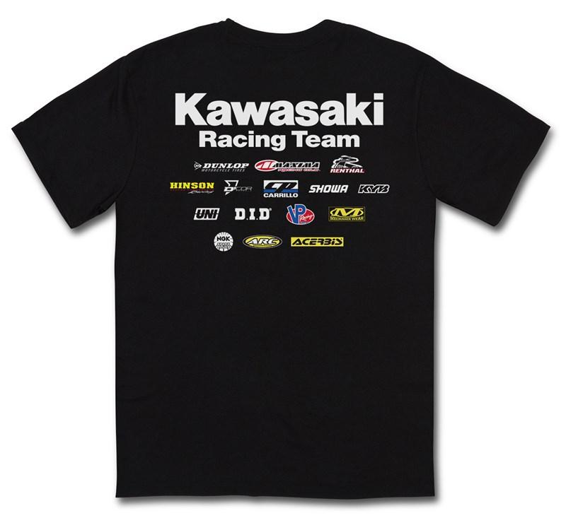 Kawasaki Racing Team T-Shirt detail photo 2