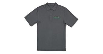 Kawasaki 3 Green Lines DryTec Polo