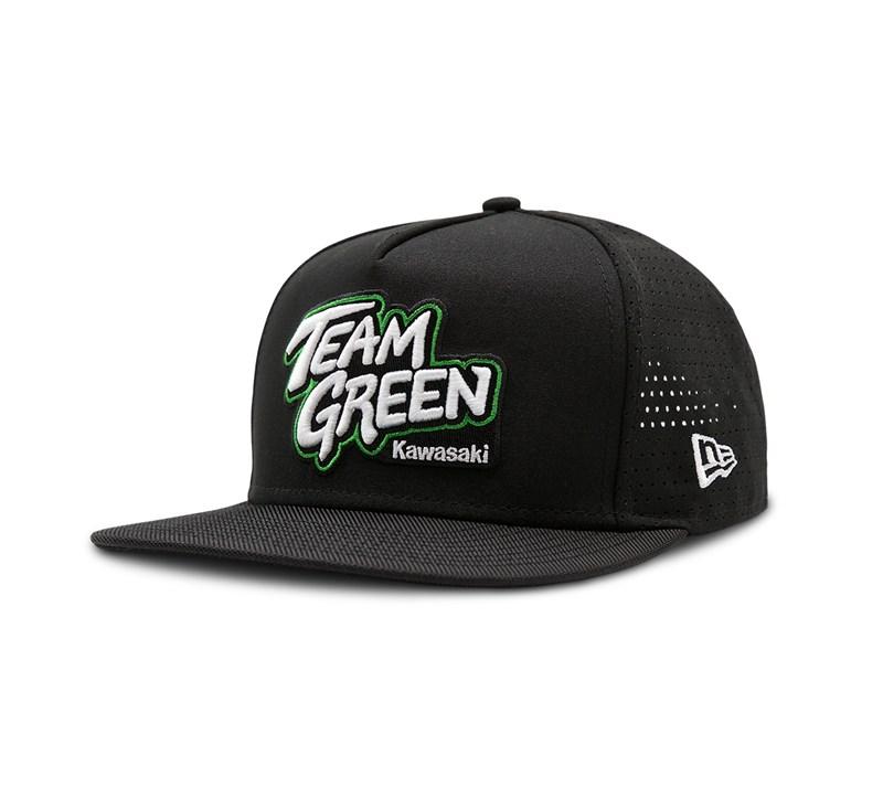 New Era© 9Fifty Team Green Cap detail photo 1