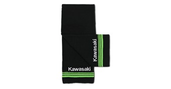 Kawasaki 3 Green Lines Basic Scarf