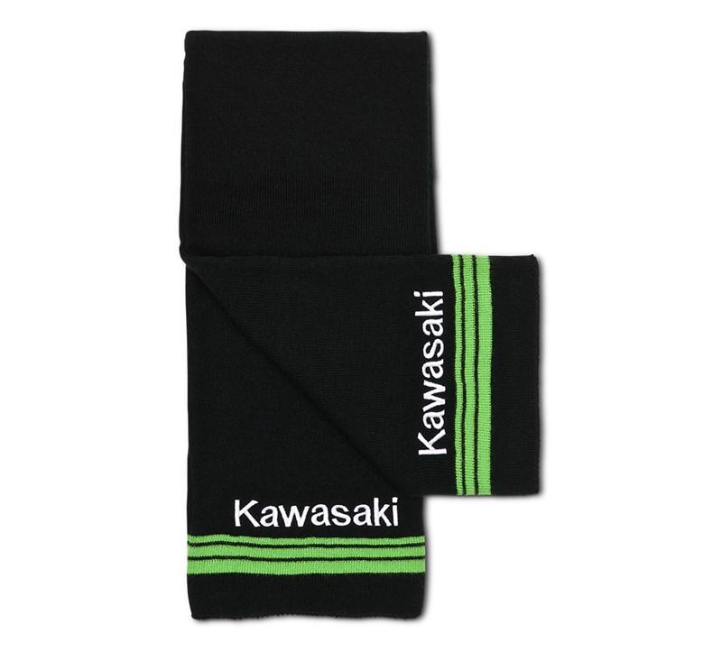 Kawasaki 3 Green Lines Basic Scarf detail photo 1