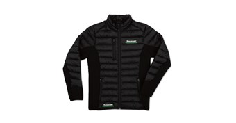 Women's Kawasaki 3 Green Lines Puff Jacket