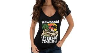 Women's Kawasaki Sand Dune V-Neck Tee