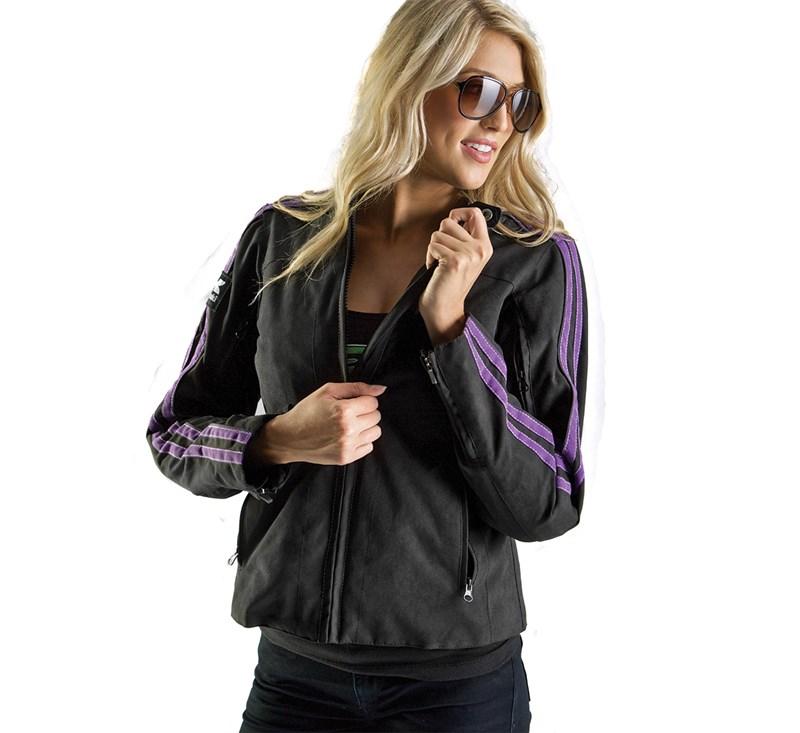 Women's Bombshell Textile Jacket detail photo 2