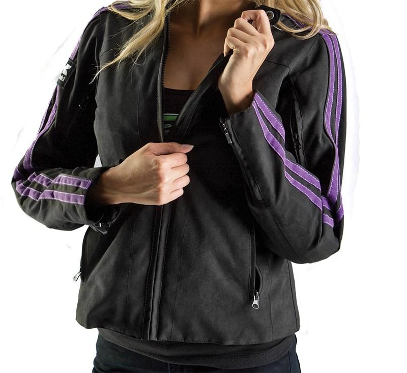 Women's Bombshell Textile Jacket detail photo 1
