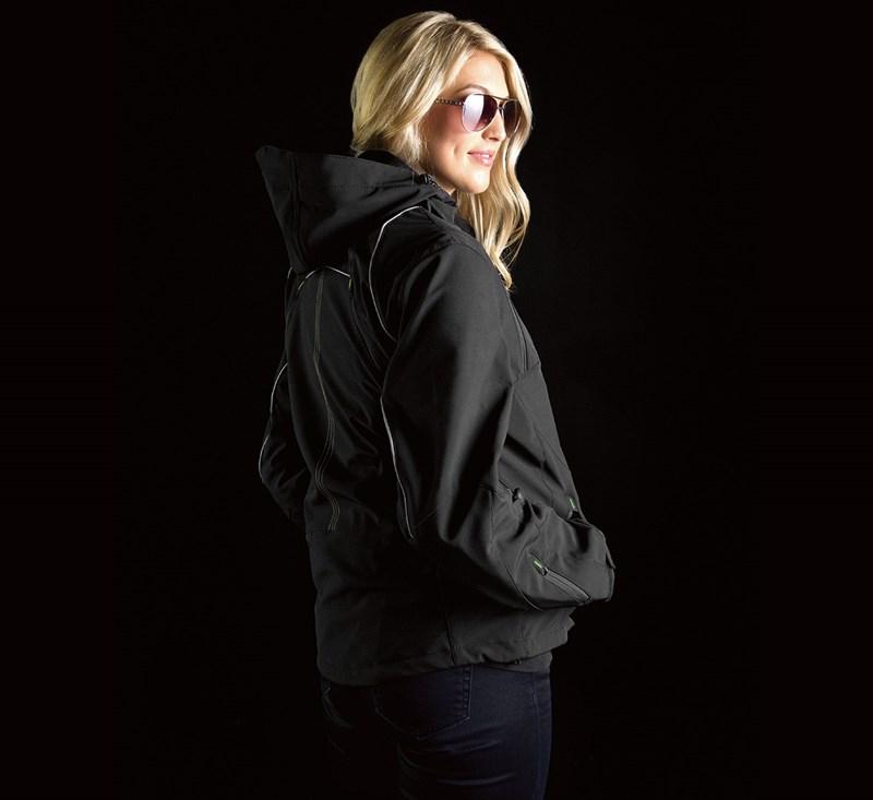 Women's Ratchet Softshell Jacket detail photo 3