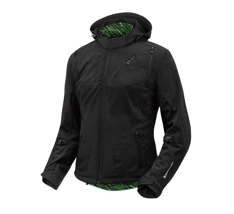 Women's Ratchet Softshell Jacket detail photo 2