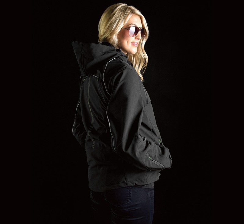 Women's Ratchet Softshell Jacket detail photo 3