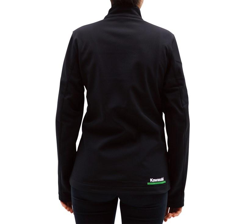 Women's Kawasaki 3 Green Lines Soft Shell Jacket detail photo 4