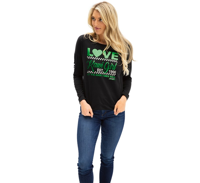 Women's Kawi Girl Sweatshirt detail photo 2