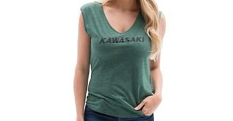 Women's Kawasaki Heritage Logo T-shirt