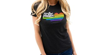 Women's Kawasaki Vintage Let the Good Times Roll Tee