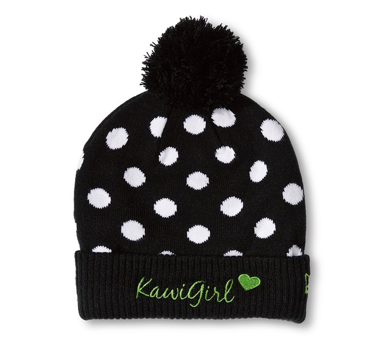 Women's New Era© Kawi Girl™ Pok-a-dot Pom Beanie detail photo 1