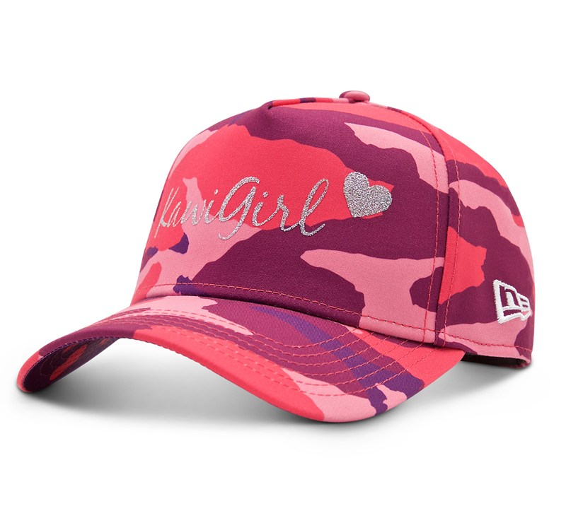 Women's New Era© 9Forty Kawi Girl Camo Cap detail photo 1