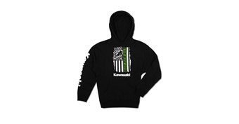 Youth Flag Pullover Hooded Sweatshirt