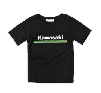 Youth Kawasaki 3 Green Lines T-Shirt