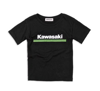 Youth Kawasaki 3 Green Lines T-Shirt