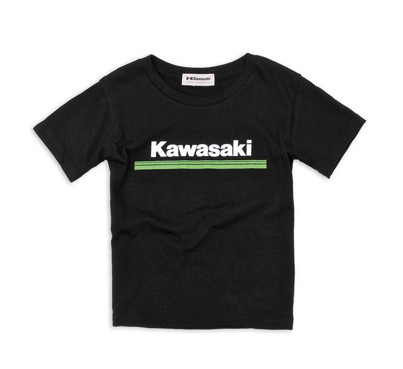 Youth Kawasaki 3 Green Lines T-Shirt detail photo 1