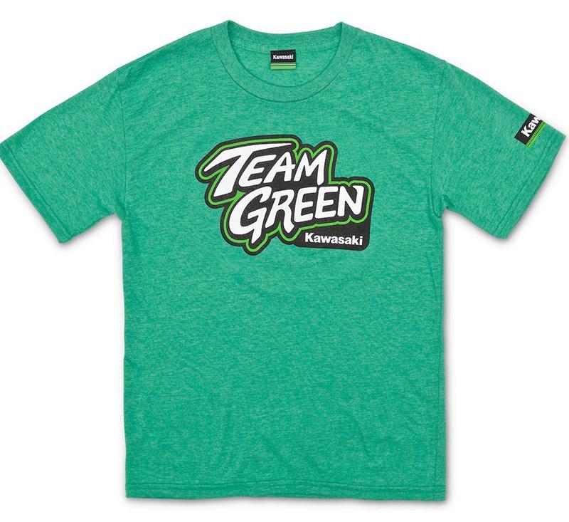 Youth Team Green T-Shirt detail photo 1