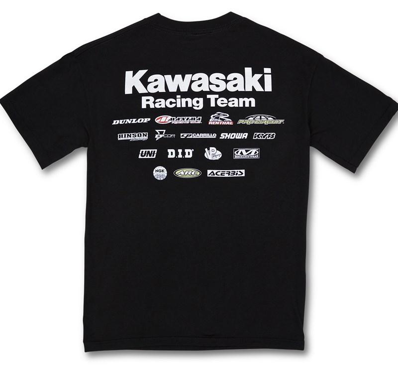 Youth Kawasaki Racing Team T-Shirt detail photo 2