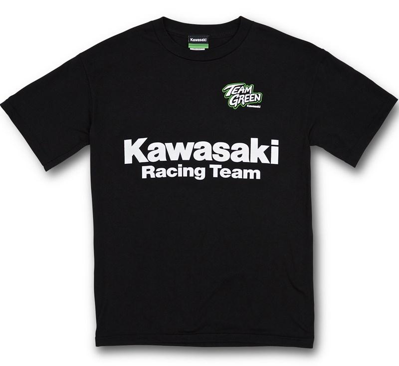 Youth Kawasaki Racing Team T-Shirt detail photo 1