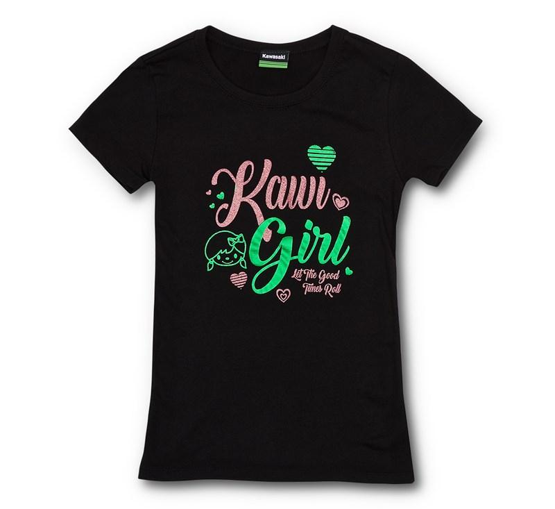 Youth Kawi Girl Tee detail photo 1