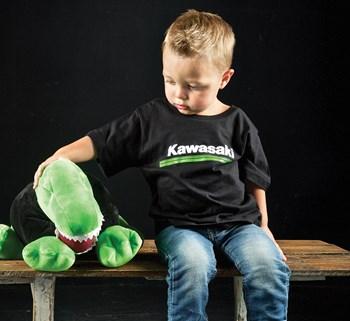Toddler Kawasaki 3 Green Lines