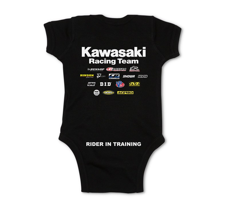 Infant Kawasaki Racing Team Onesie detail photo 2