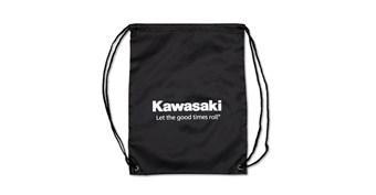 Kawasaki Let the Good Times Roll® Clinch Drawstring Bag