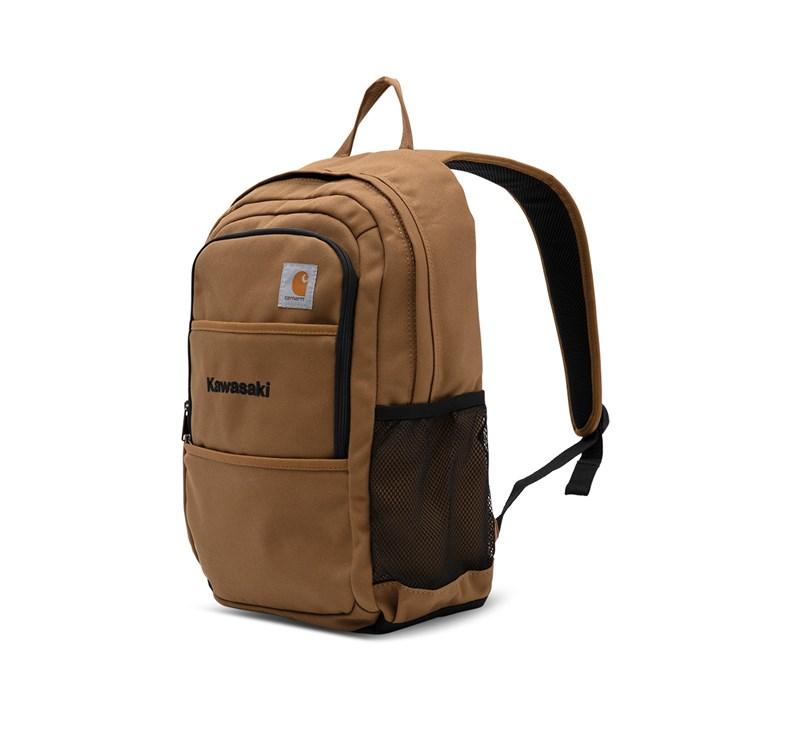 Kawasaki Carhartt® Canvas Backpack, Carhartt® Brown detail photo 2