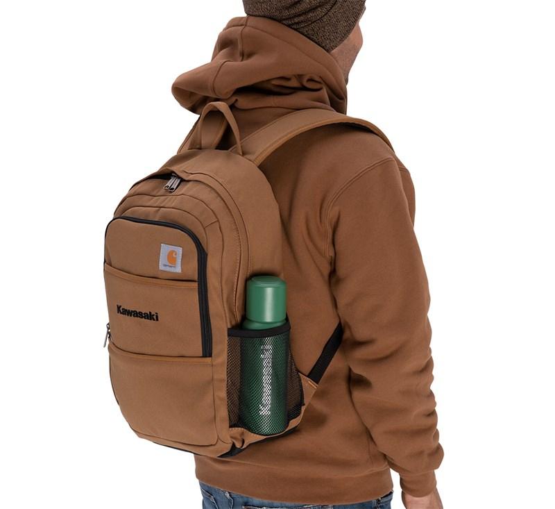 Kawasaki Carhartt® Canvas Backpack, Carhartt® Brown detail photo 4