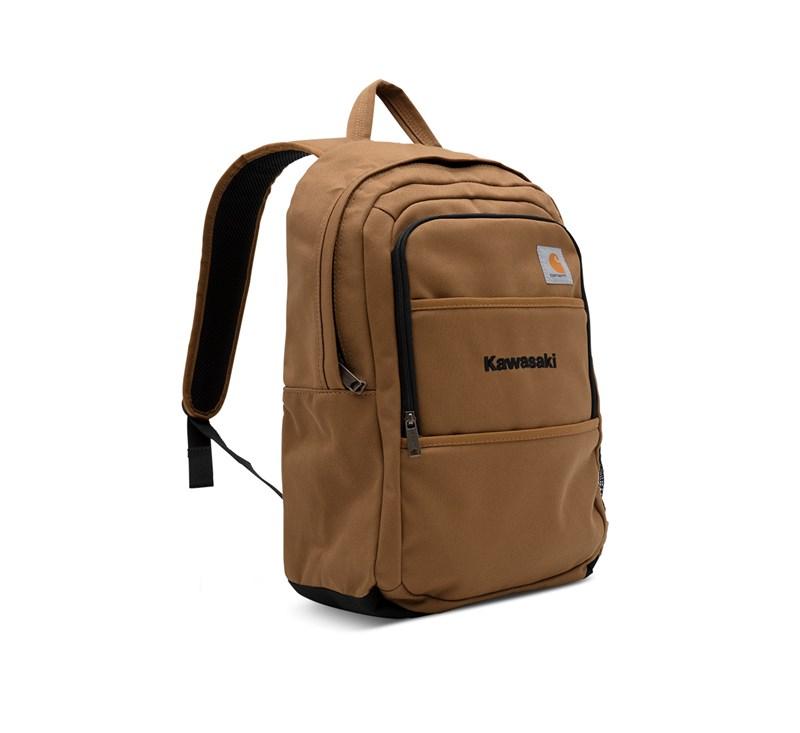 Kawasaki Carhartt® Canvas Backpack, Carhartt® Brown detail photo 1
