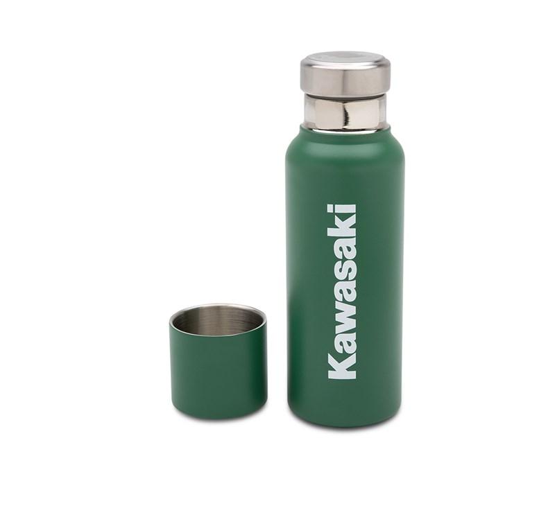 Kawasaki 16.9 oz Stainless Bottle detail photo 2