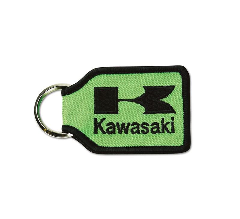 Kawasaki Woven Keychain detail photo 1