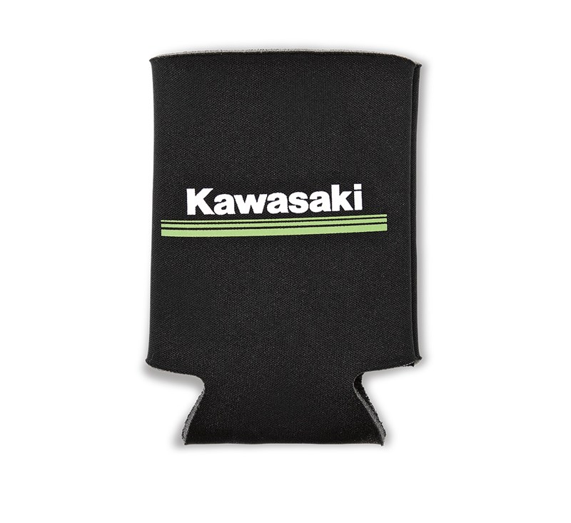 Kawasaki 3 Green Lines Collapsible Can Cooler detail photo 1
