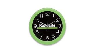 Kawasaki 3 Green Lines Wall Clock