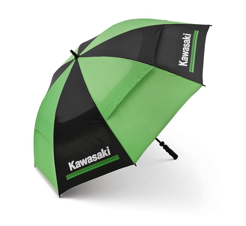 Kawasaki 3 Green Lines Umbrella detail photo 1