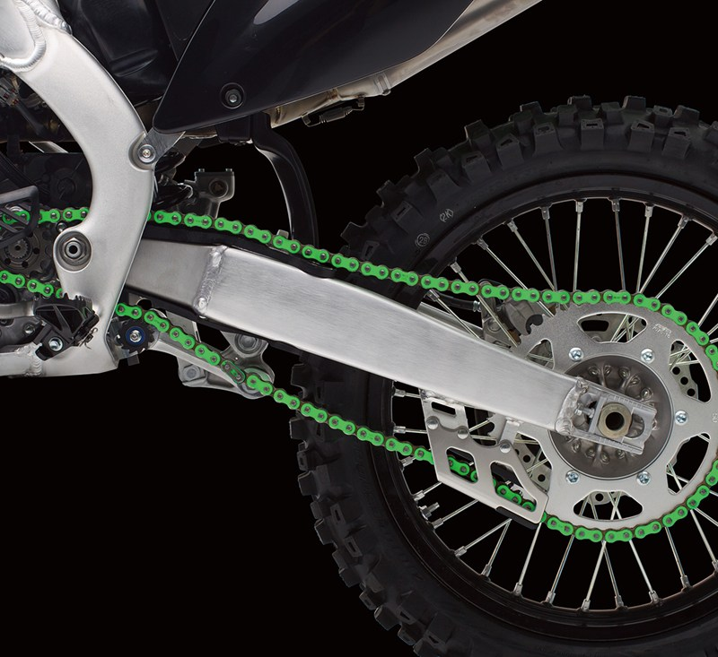 RK EXW/GXW Green Racing Chain detail photo 1