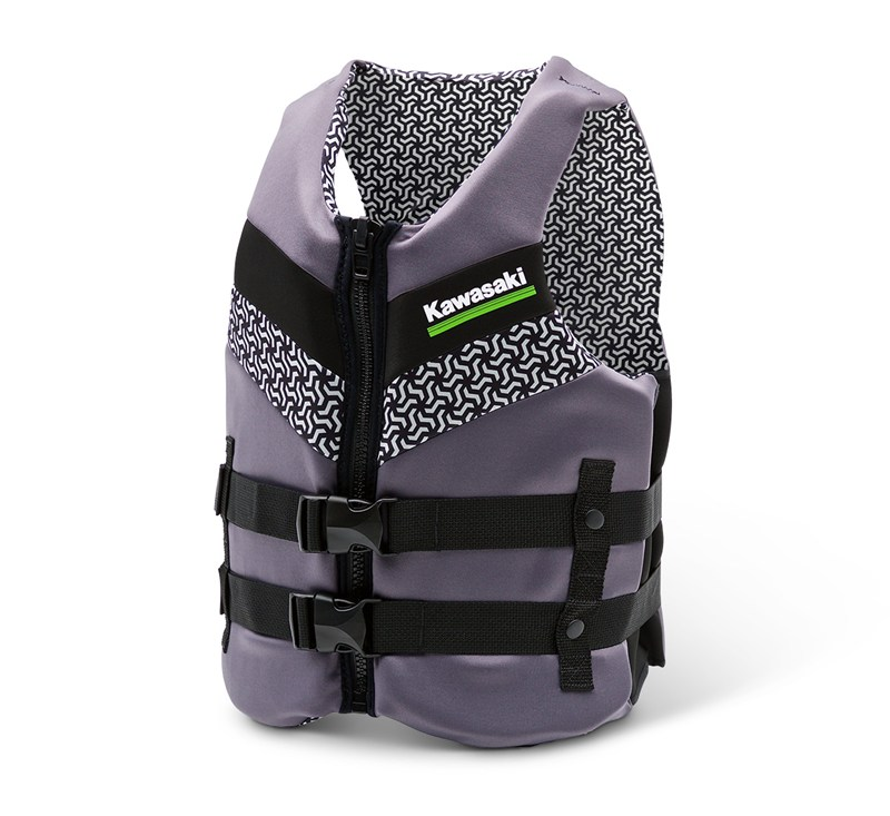 Jet Ski® Tiger Shark Neoprene Vest detail photo 1