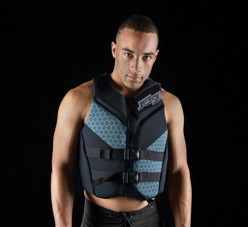 Jet Ski® Wake Neoprene Vest detail photo 1