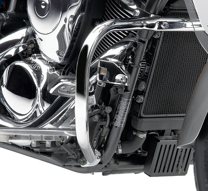 Engine Guard, Chrome detail photo 1