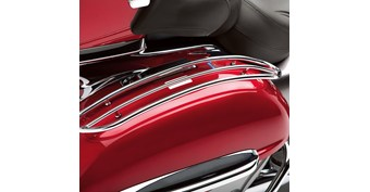 Saddlebag Top Trim Set, Chrome