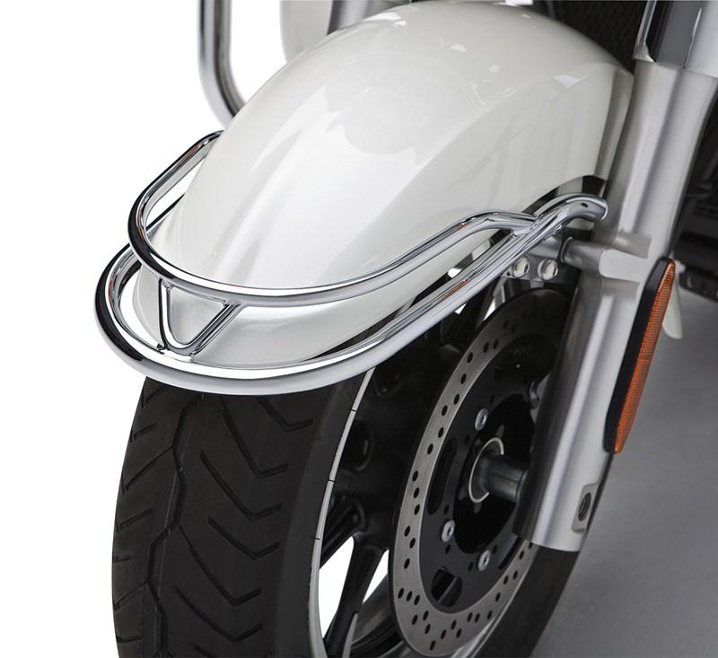 Fender Trim, Chrome detail photo 1