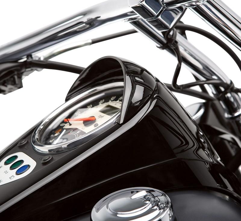 Speedometer Visor, Black detail photo 1