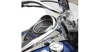 Speedometer Visor, Chrome