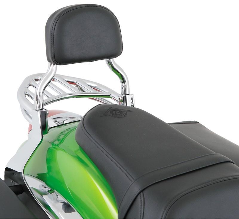 Passenger Backrest, Chrome detail photo 1
