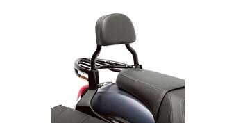 Passenger Backrest, Black