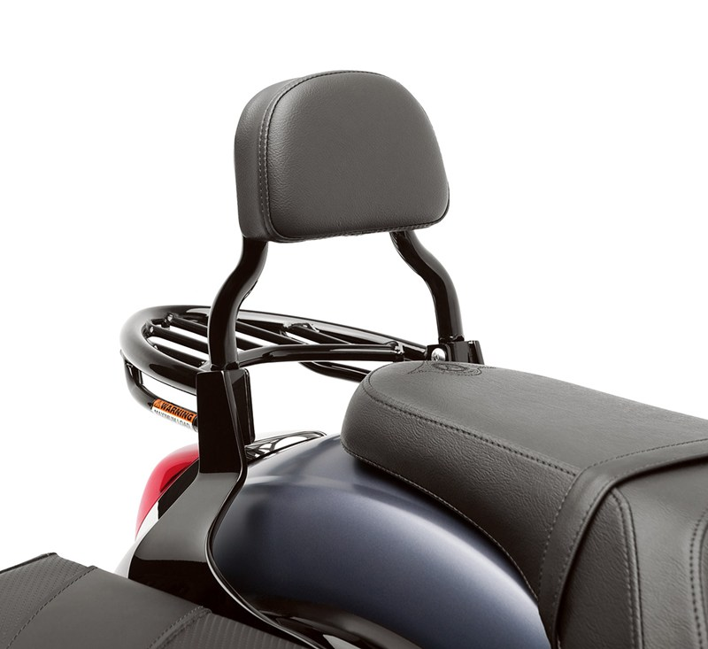 Passenger Backrest, Black detail photo 1
